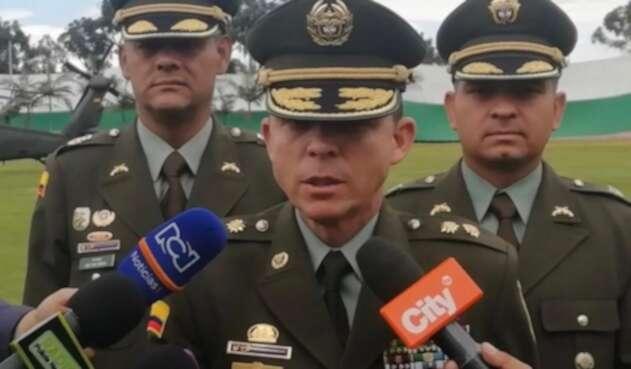 General Juan Carlos Buitrago, saliente director de la Policía Fiscal y Aduanera.