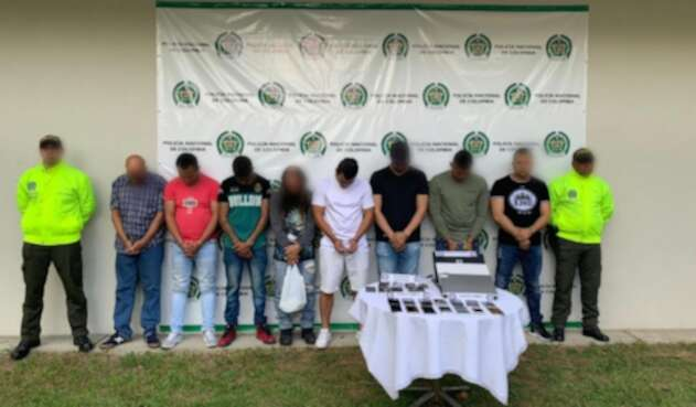 Banda delincuencial los liberadores