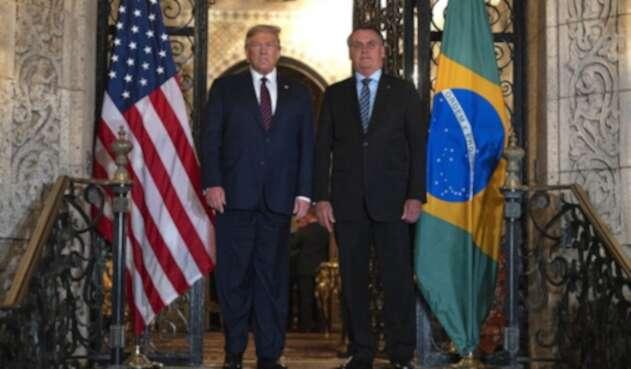 Jair Bolsonaro realiza una visita diplomática a Donad Trump