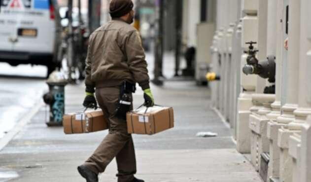 entrega de paquete