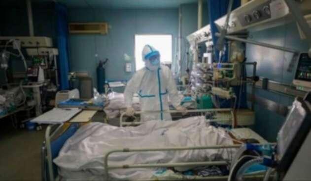 Hospitales con enfermos del coronavirus