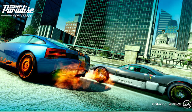 Burnout Paradise remaster para Nintendo Switch