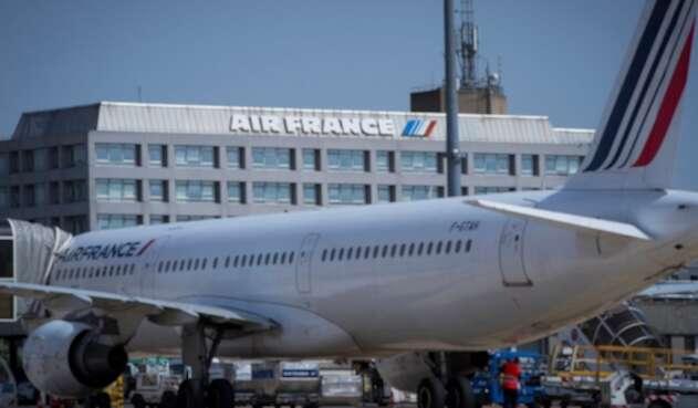 La decisión de Air France obedece a la amenaza que representa el coronavirus.