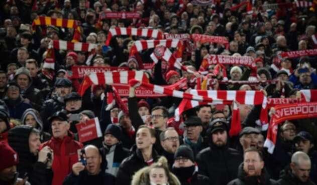 Liverpool, estadio de Anfield