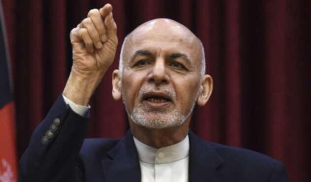 Presidente de Afganistán, Ashraf Ghani