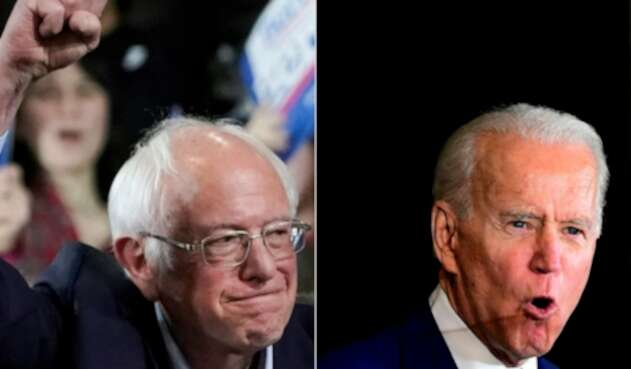 Bernie Sanders y Joe Biden compiten por la presidencia de EE.UU.