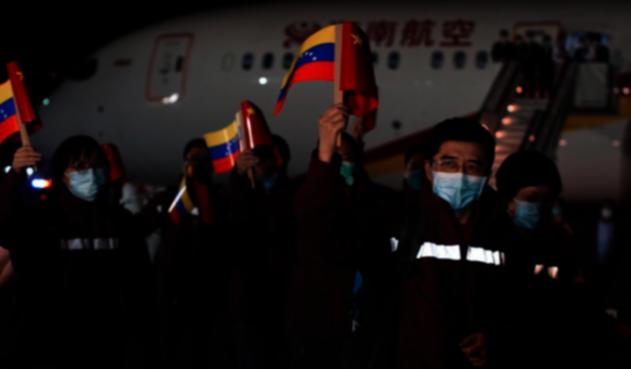 Médicos chinos llegan a Venezuela