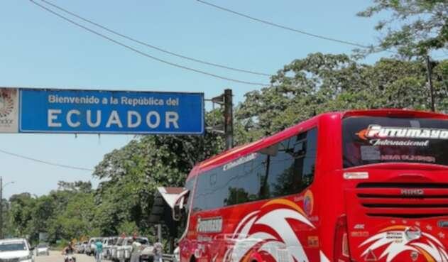 Frontera de Colombia con Ecuador