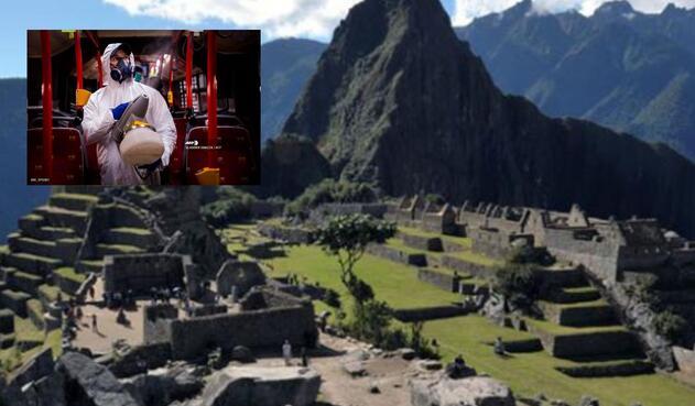 Coronavirus afectó el turismo en Perú.