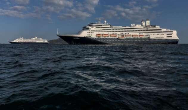 Los cruceros estadounidenses Zandaam