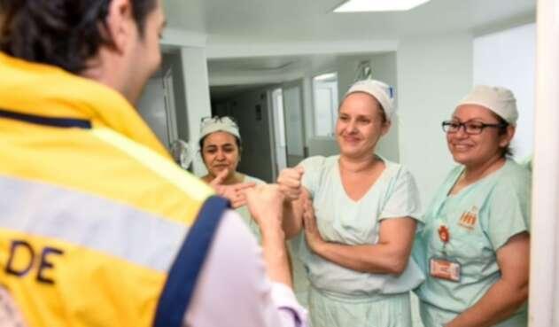 Las autoridades en Medellín pidieron hacer un uso responsable de la línea 123 que es el primer canal de orientación para casos de Coronavirus.