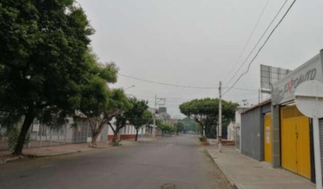 Gruesa Capa de Humo en la ciudad de Cúcuta
