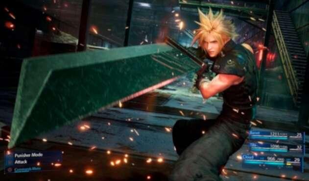 Cloud Strife es el protagonista de Final Fantasy VII