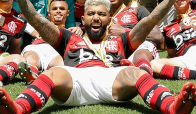 Gabigol, delantero de Flamengo