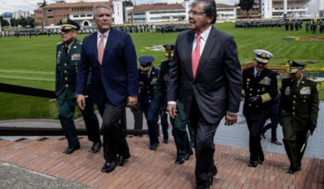 Carlos Holmes Trujillo, ministro de Defensa