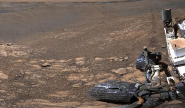 Imagen del rover en Marte