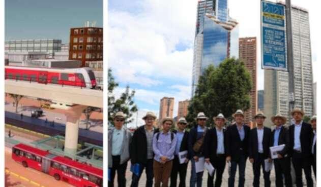 Ingenieros chinos Metro de Bogotá