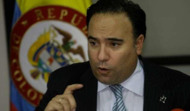 Luis Guillermo Plata, gerente del covid