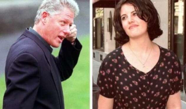 Bill Clinton y Monica Lewinski
