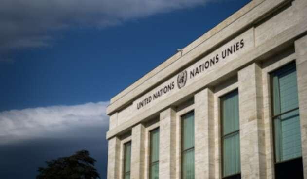 Palacio de Naciones Unidas en Ginebra Suiza