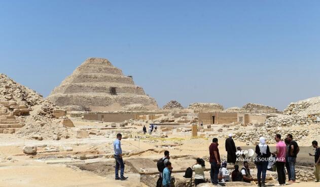 Es considerada la pirámide más vieja aún en pie en Egipto.
