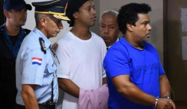 Ronaldinho preso