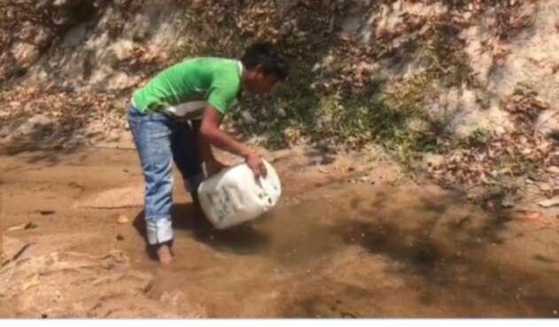 Sequía en Riohacha