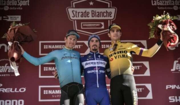 Strade Bianche 2019. Carrera italiana
