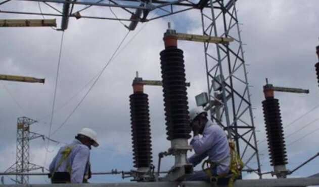 Subestación de energía