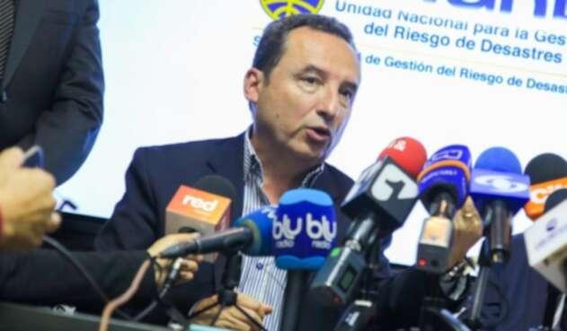 Secretario de Saluid de Bogotá, Alejandro Gómez