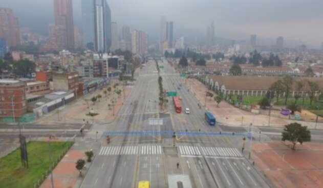 Aislamiento en Bogotá