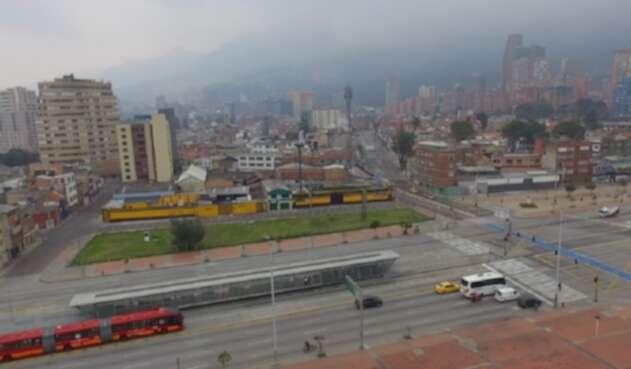 Bogotá amanece desolada
