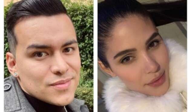 Yeison Jiménez y Mara Cifuentes