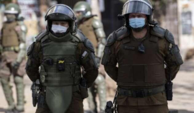 protestas chile policia
