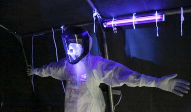 Limpieza con rayos ultravioleta elimina bacterias