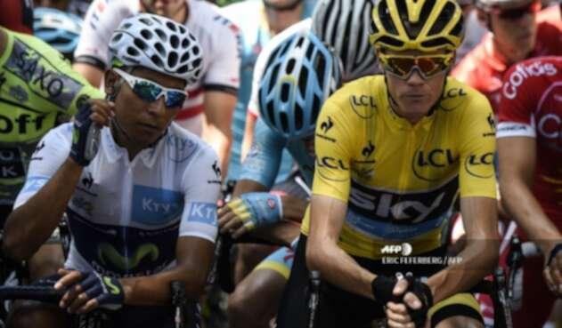 Nairo Quintana, Chris Froome