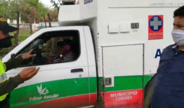 Impiden el ingreso a Magangué de una van con pasajeros procedentes de Bogotá