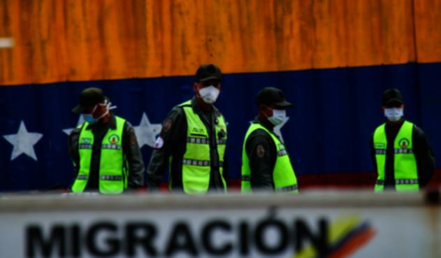 Coronavirus en Colombia; frontera con Venezuela.