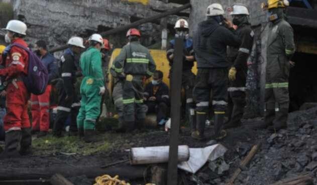 Emergencia en Cucunubá (Cundinamarca), por explosión de mina.