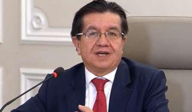 Fernando Ruiz Gómez, ministro de Salud