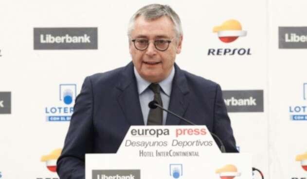 Michael Robinson, periodista y exjugador