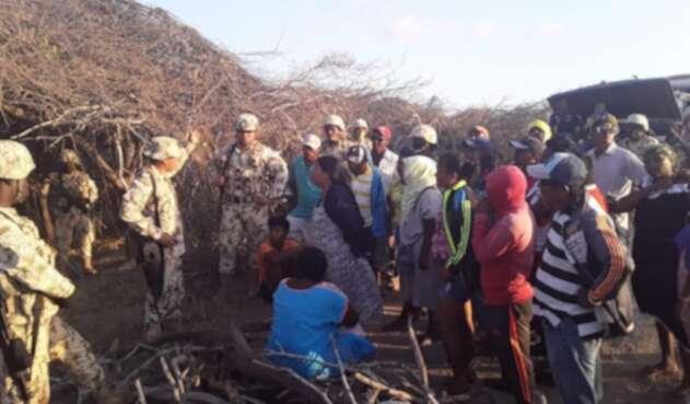 Bloqueos de indígenas en la Alta Guajira