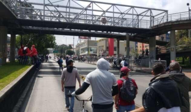 Protestas en Suba