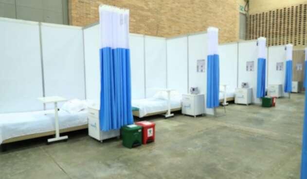 Hospital de Corferias, habilitado en tiempo récord.