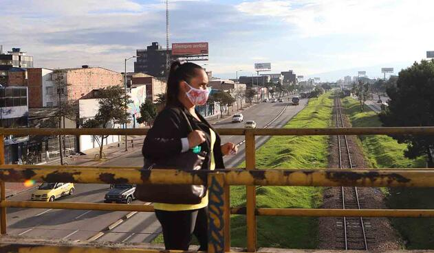 Cuarentena en Bogotá / Deporte en cuarentena / Coronavirus en Colombia