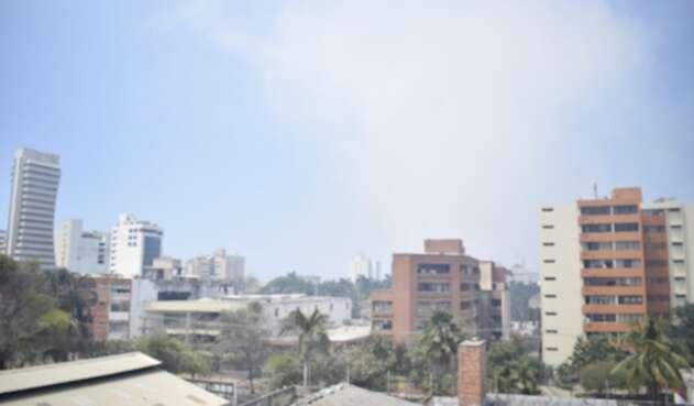 Afectaciones en Barranquilla por la humareda