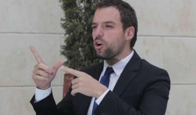 Luis Ernesto Gómez, secretario de Gobierno de Bogotá