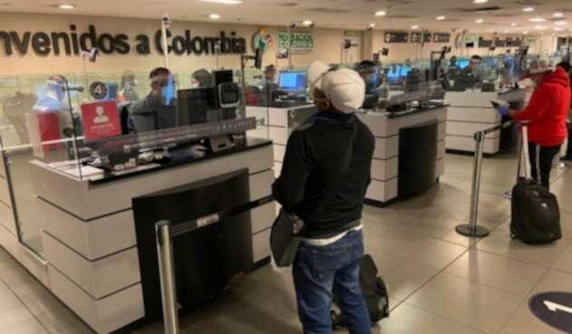 Colombianos retornados en vuelos humanitarios