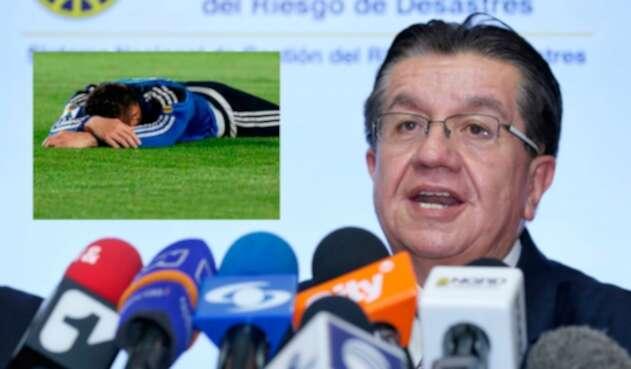El ministro de Salud, Fernando Ruiz, se refirió acerca del regreso del fútbol.