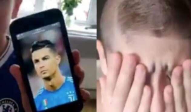 Captura de Pantalla Cristiano Ronaldo